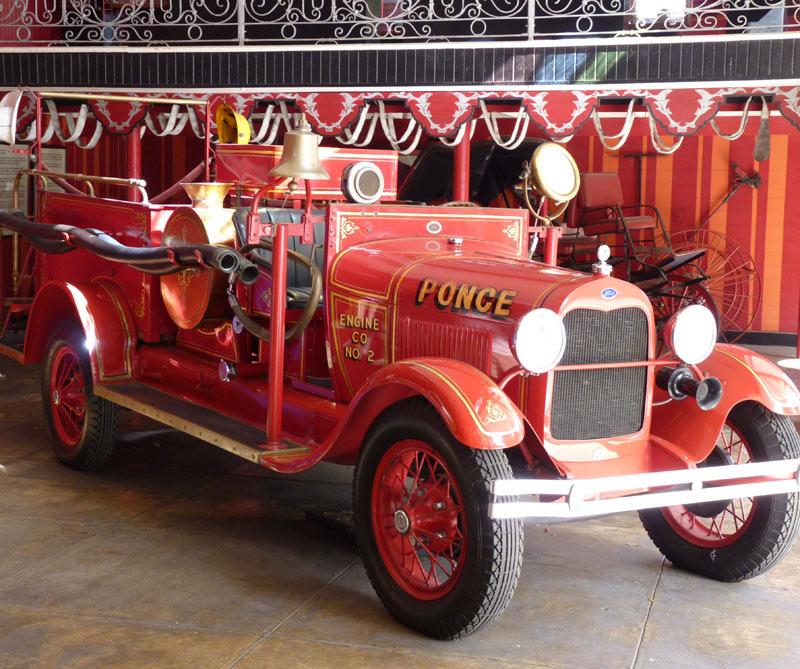 <div>Parque Bombas, la antigua estación de bomberos.</div>