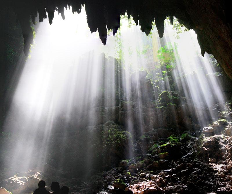 <div>Las cuevas del río Camuy.</div>