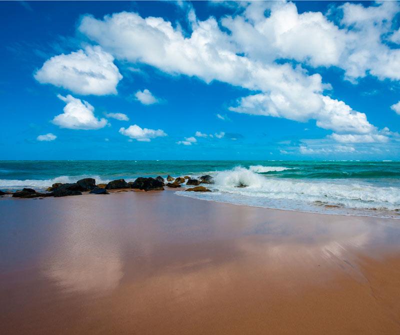 <div>Las playas de Condado.</div>