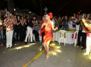 Marcela García Caballero (Reina del Carnaval de Barraanquilla).