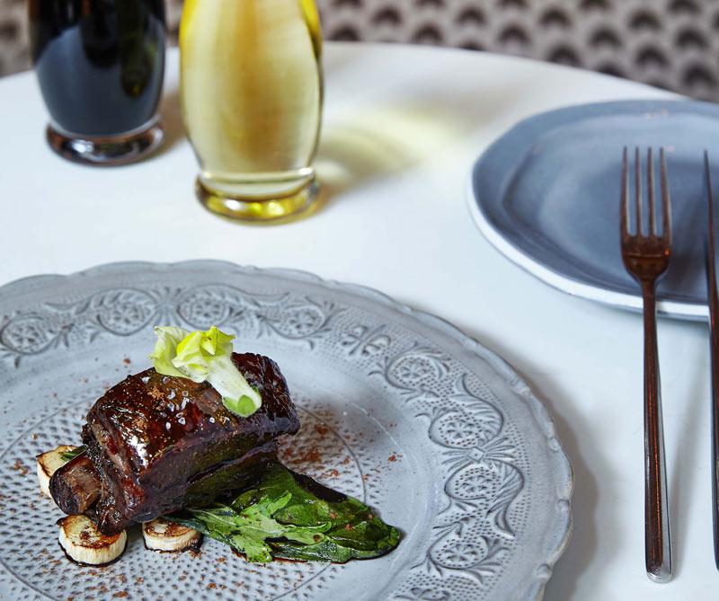 El dirigible de cerdo, otro de ls platos recomendados de ciengramos.