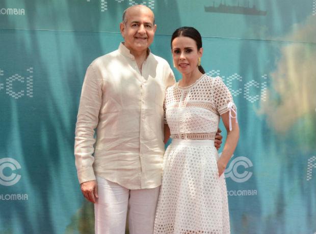 Munir Falah y Patricia Tascón.