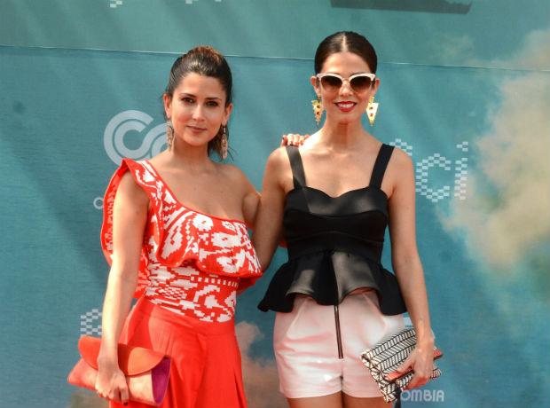 Juanita Acosta y Valentina Acosta.