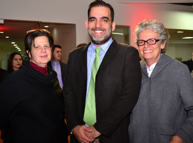 <div></noscript>María Fernanda Paz, Freddy Goncalves y María Osorio.</div>