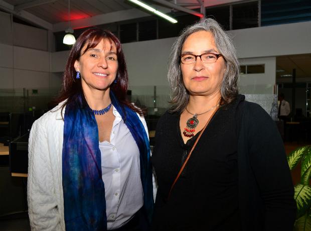 <div></noscript>Patricia Camacho y Constanza Padilla.</div>