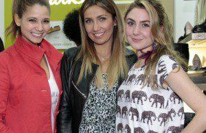 Melissa Martinez, Adriana Betancour y Carolina López.