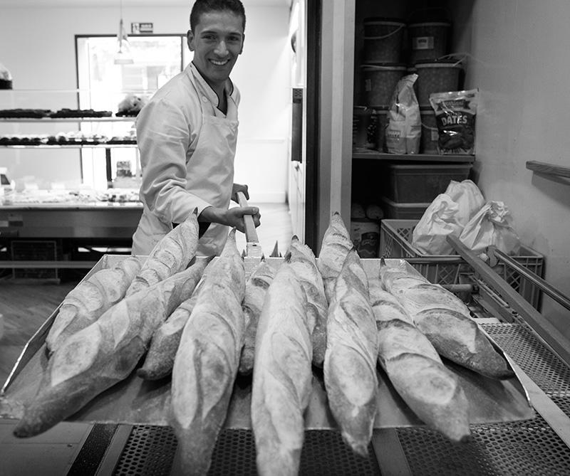 <div>El pan de Eric Kayser tiene una corteza crujiente</div>