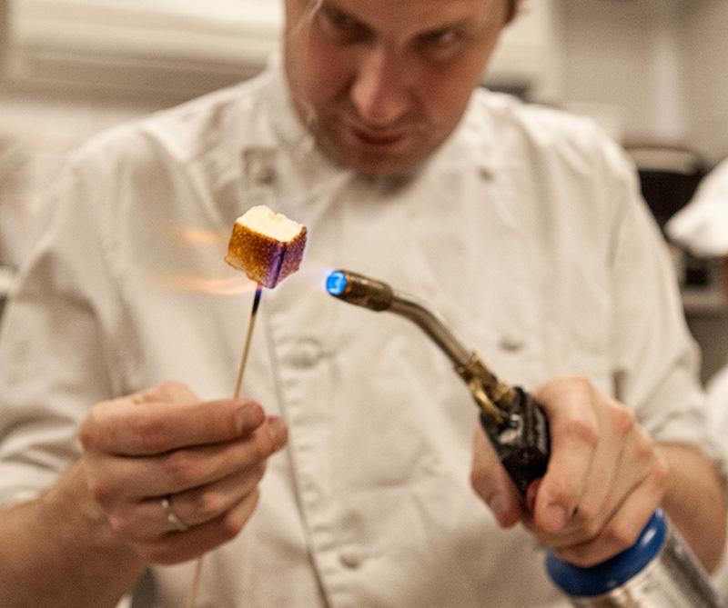 <div>Rafael Haasz, el chef de Grazia</div>