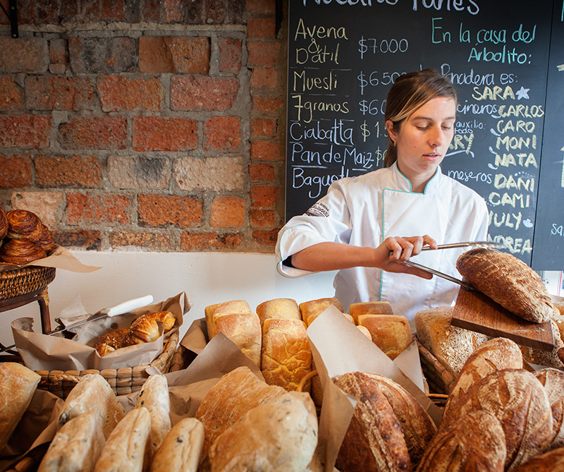 <div>La panadería Árbol del Pan, en Chapinero</div>