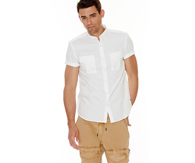 Camisa blanca, Guess