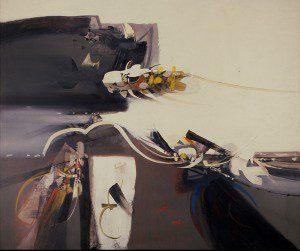 Alejandro Obregón, Fuga y muerte del alcatraz, Óleo sobre tela, 1963