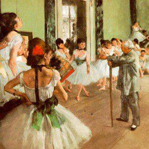 La clase de ballet