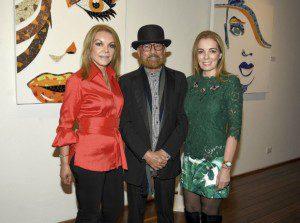 Mónica Hartmann, Gustavo García y Elsa Marina Losada.