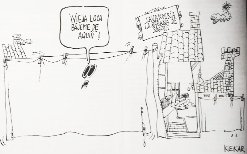 Caricatura de Kekar