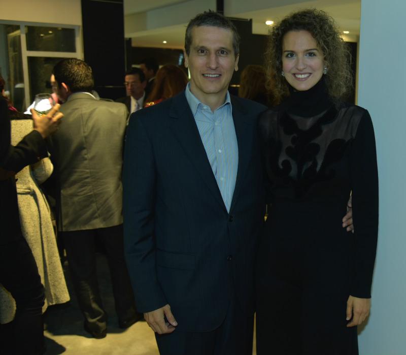 Ignacio Pombo y Genoveva Caro.