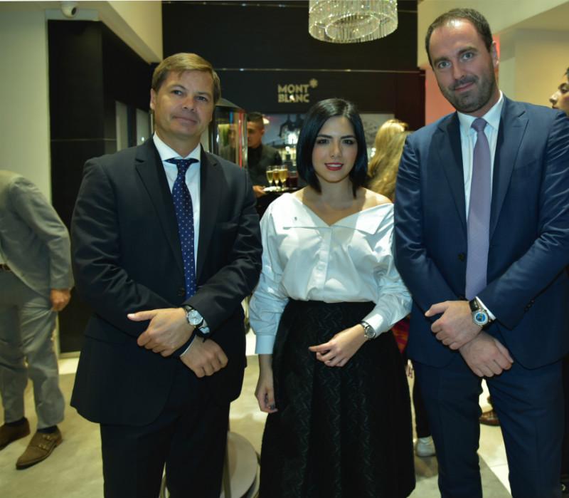 Alejandro Restrepo, María Alejandra Guerrero y Pierre Etienne Durand.