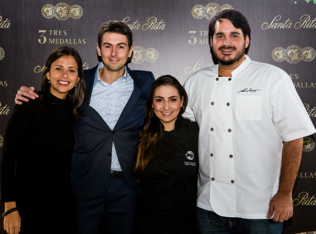 Gina Prieto, Nicolás Nieny, María Luisa Arias y Federico Martínez.
