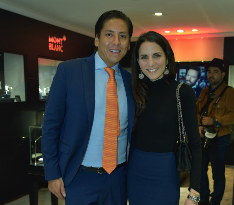 Giovanny Alegra y Kelly Talamas
