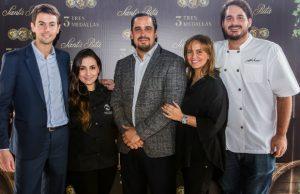 Nicolás Nieny, María Luisa Arias, Víctor Cantisani, Paola Vanegas y Federico Martínez.