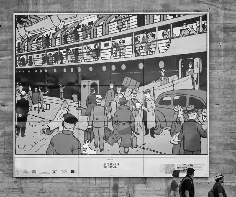 """La historia del periodista Tintín y de su perro Milú fue creada por el belga George Rémi el 10 de enero de 1929 y publicada en """"Le petit vingtième"""" del periódico parisino """"Siglo Veinte"""". Su edición a color estará lista para 2017."""