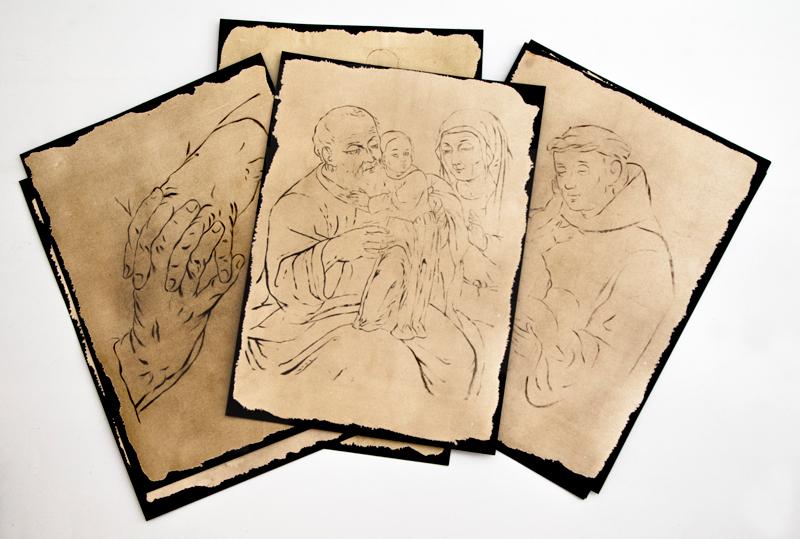 Dibujos, Gregorio Vásquez de Arce y Ceballos (1638-1711)