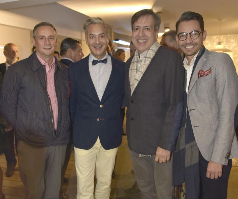 <div>Enrique Rodríguez, Carlos Lanz, Arturo Cabra y Juan Manuel Castro.</div>