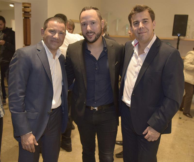 <div>Giovanni Bojanini, Gregory Schaller y Jose Puccini.</div>