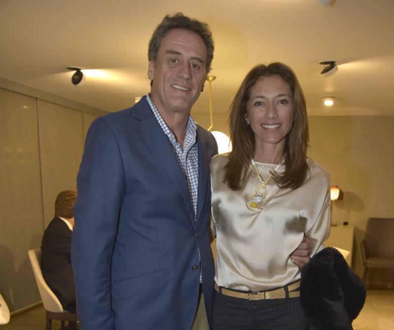 <div>Hedbert Bardenheuer y María Fernanda Moreno.</div>