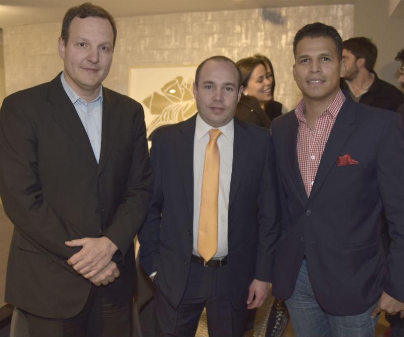 <div>Hernando Quintero, José Ignacio Lacouture y Luis Fernando Quintero.</div>