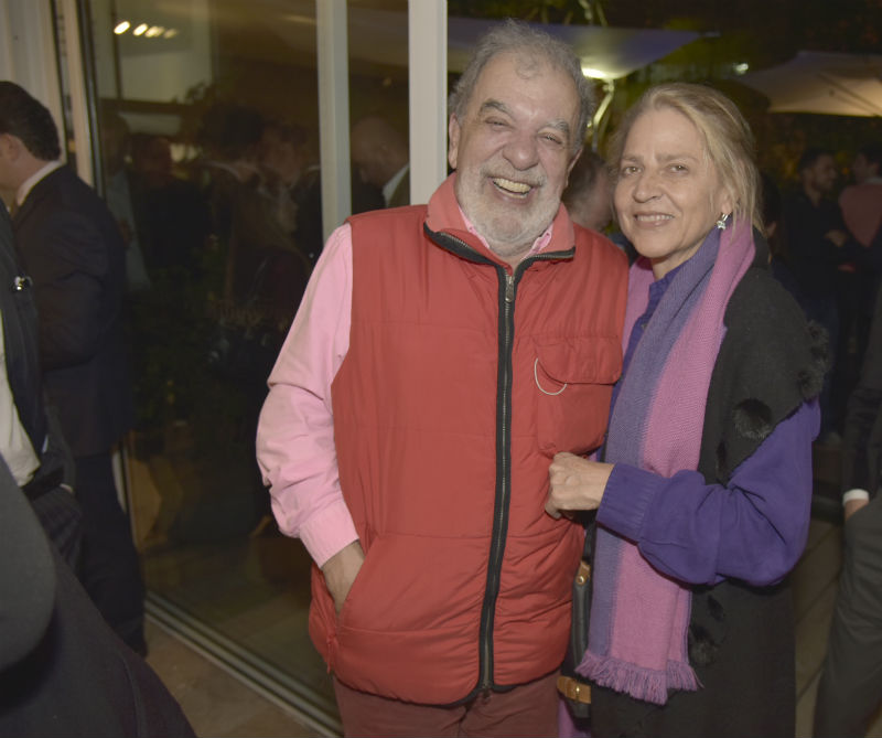 <div>Poncho Renterìa y Lula Arango.</div>
