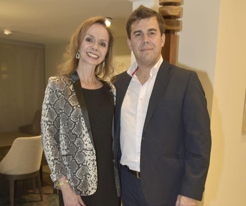 <div>Caroline Gatti y José Puccini.</div>