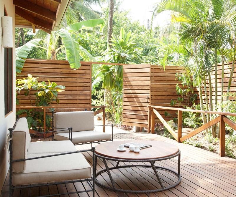 El hotel Harmony cultiva plantas autóctonas en su jardín