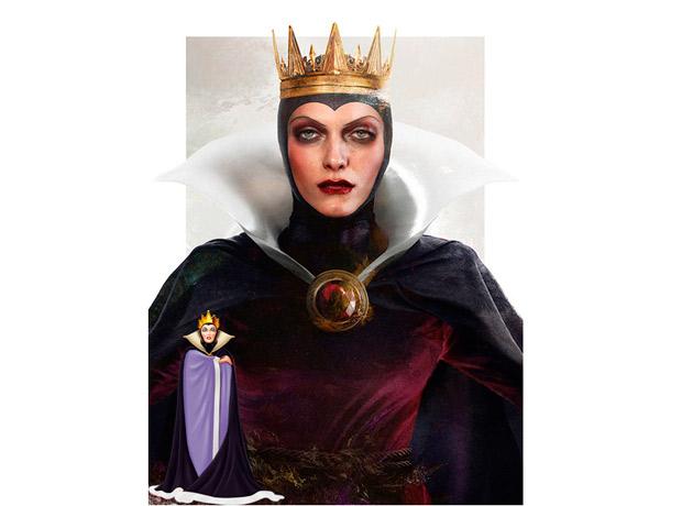 La Reina Grimhilde, Blancanieves y los siete enanitos