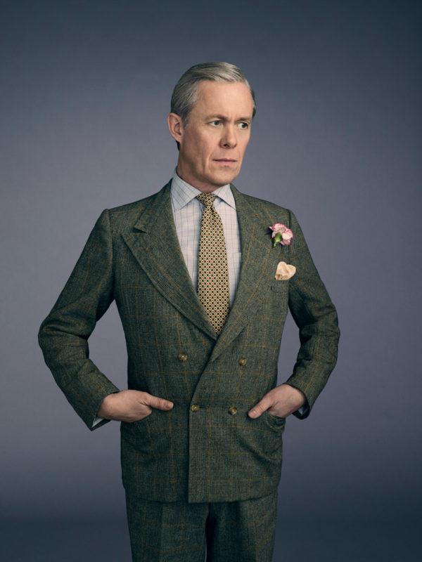 """Eduardo VII, el """"tío problema"""" de la familia real, interpretado por Alex Jennings"""