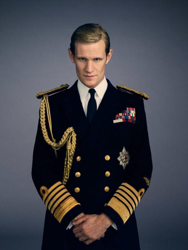 Matt Smith es el encargado de darle vida al Duque de Edimburgo