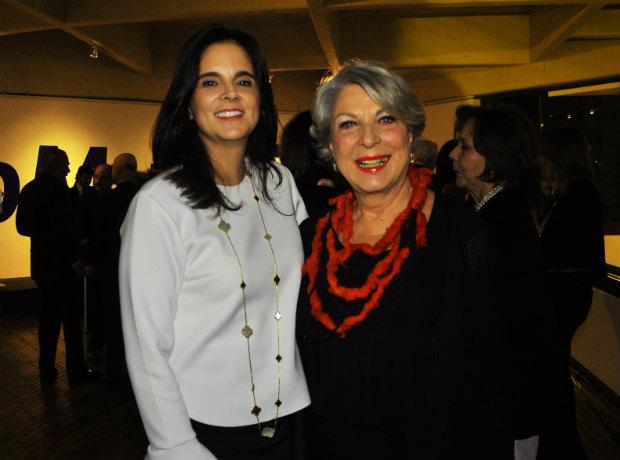 Carolina Puerto Obregón y Olga Pumarejo.