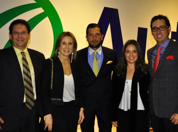 <div>Jacobo Cure, Diana Palacio, Lucas Rodríguez, Angélica Rodríguez y José Miguel Carreria.</div>