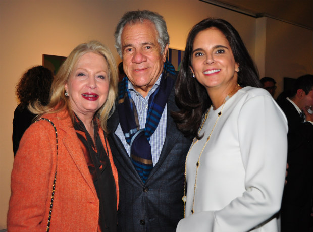 Maritza Chejebar, Simón Chejebar y Carolina Puerto.