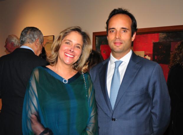 <div>Mónica Puerto y Juan Fermín Restrepo.</div>