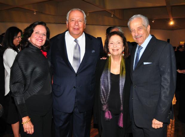 <div>Diana Obregón, Antonio Puerto, Lydia Azout e Isaac Azout.</div>
