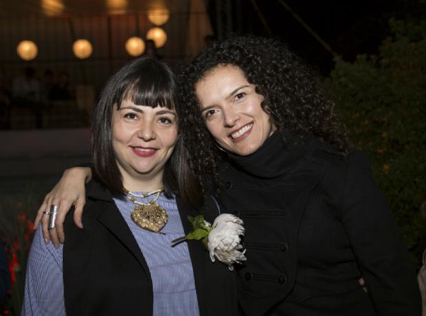 Adriana González y Simona Sánchez.