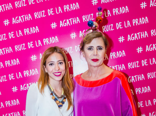 Alejandra Paternina y Ágatha Ruiz de la Prada.
