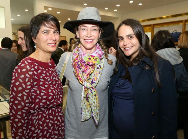 <div>Alicia Sánchez, Marcela Carvajal y Gethy Restrepo.</div>