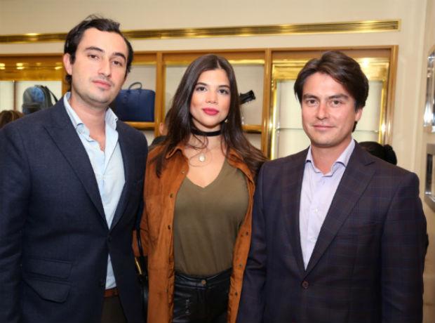<div>Andrés Niño, Alejandra Novoa y Nicolás Vásquez.</div>
