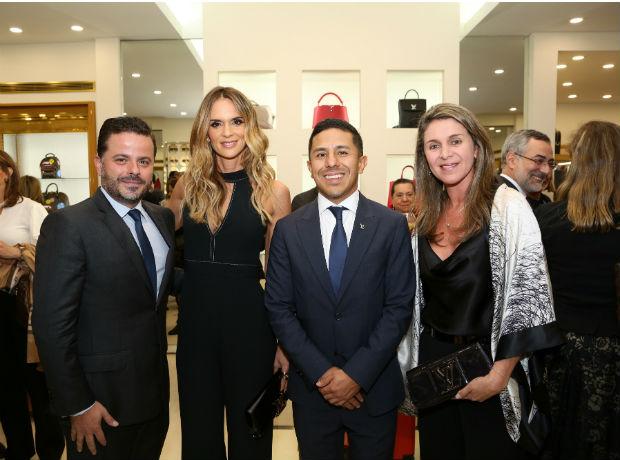 <div>Alexandre Frota, Karen Martínez, Daniel Hernández y Margarita Calle.</div>