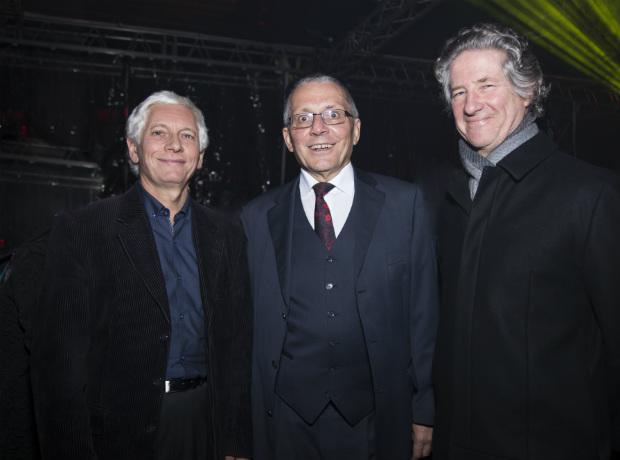 Jean-Marc Laforet, Michael Bock y Guillermo Rubio Vollert.