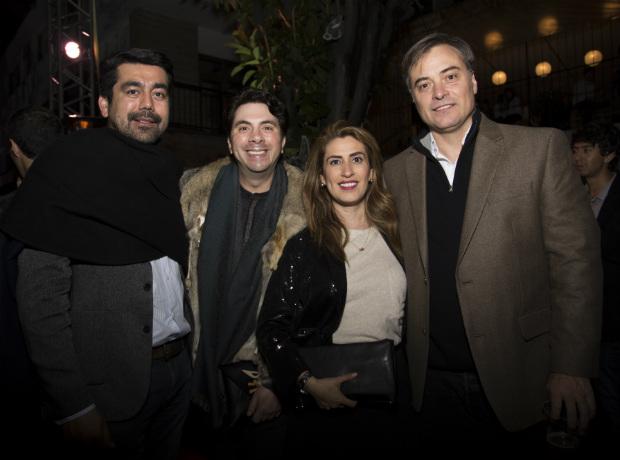John Motta, Felipe Guzmán, Andrea Barrera y Alejandro Bernal.