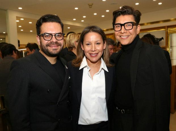 <div>Juan Pablo Socarrás, Faride Ramos y Franklin Ramos.</div>