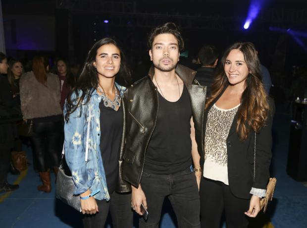María Camila Rodríguez, Josue Palacios y Paula Cárdenas.