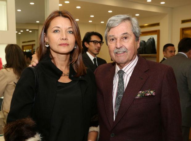 <div>Marisol Hernández y Carlos Alberto Barberi.</div>